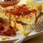 Sweet Breakfast Corn Cakes with Apricot Maple Syrup