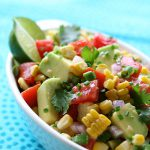 Sweet Corn, Tomato & Avocado Salsa