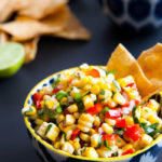 Sweet Corn, Mango and Black Bean Salsa