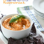 Sweet Corn and Red Pepper Hummus