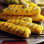 Fresh Corn with Rosemary-Garlic Oil