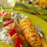 Grilled Corn with Cilantro-Chili Butter
