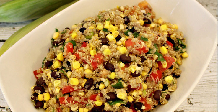 Zesty Corn and Quinoa Salad